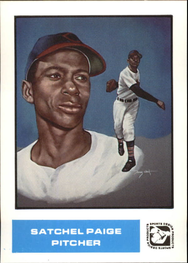 1984-85 Sports Design Products West #37 Satchel Paige