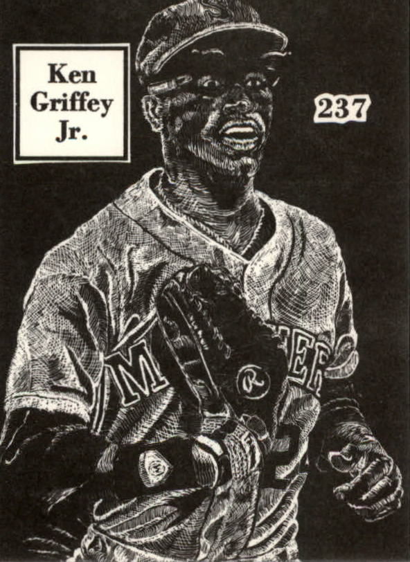 1984-89 O'Connell and Son Ink #237 Ken Griffey Jr.