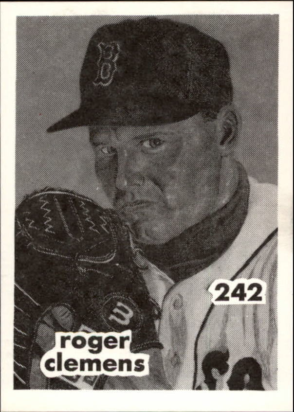 1984-89 O'Connell and Son Ink #242 Roger Clemens