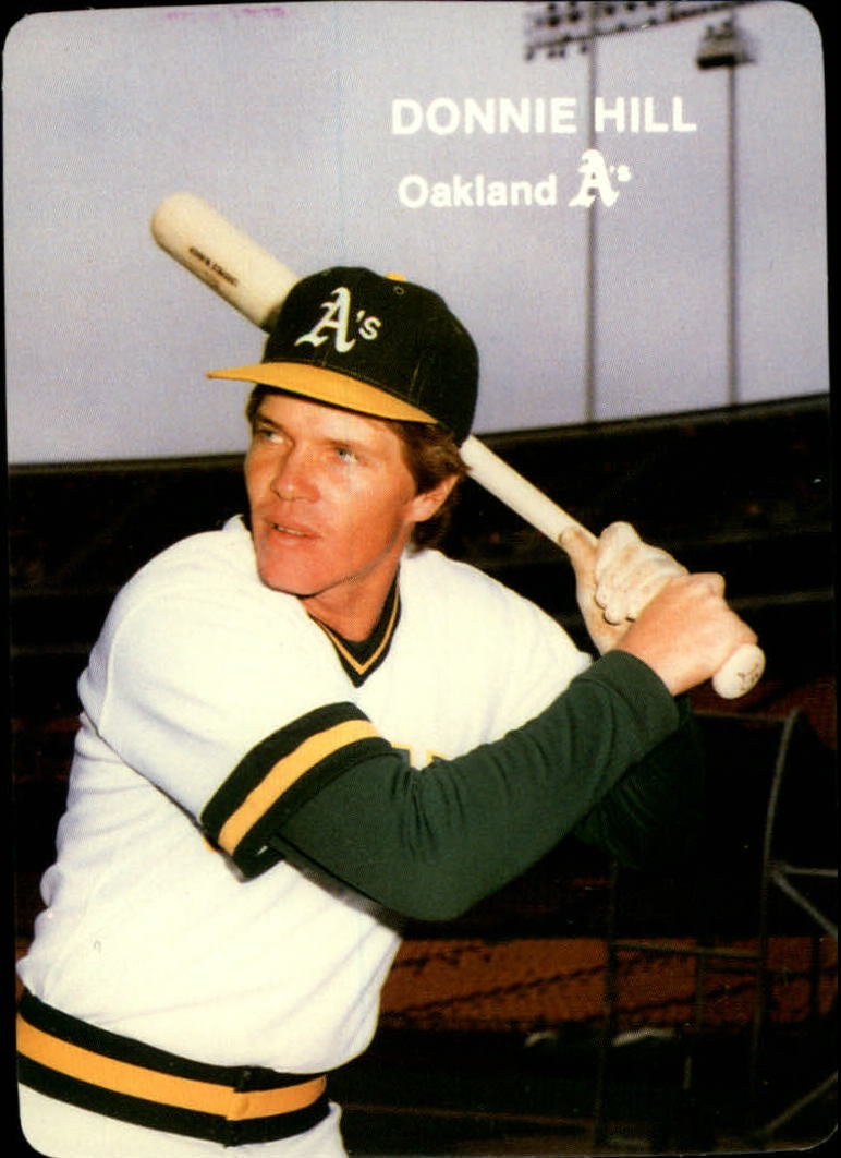 1985 A's Mother's #12 Donnie Hill