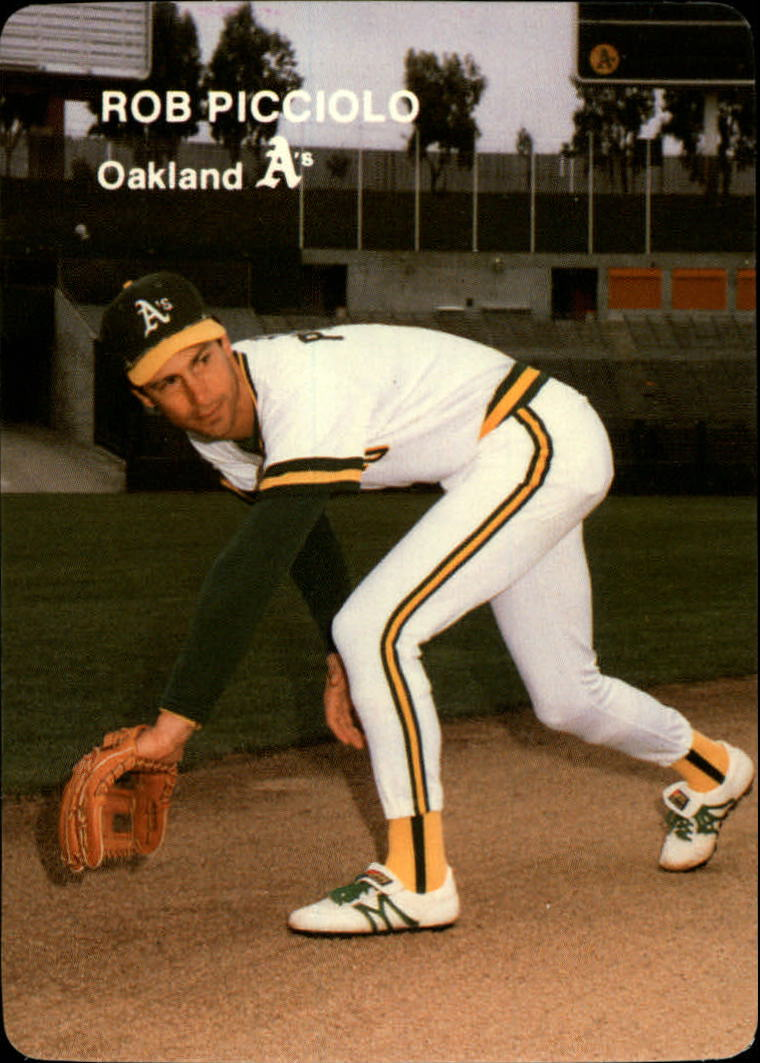 1985 A's Mother's #13 Rob Picciolo