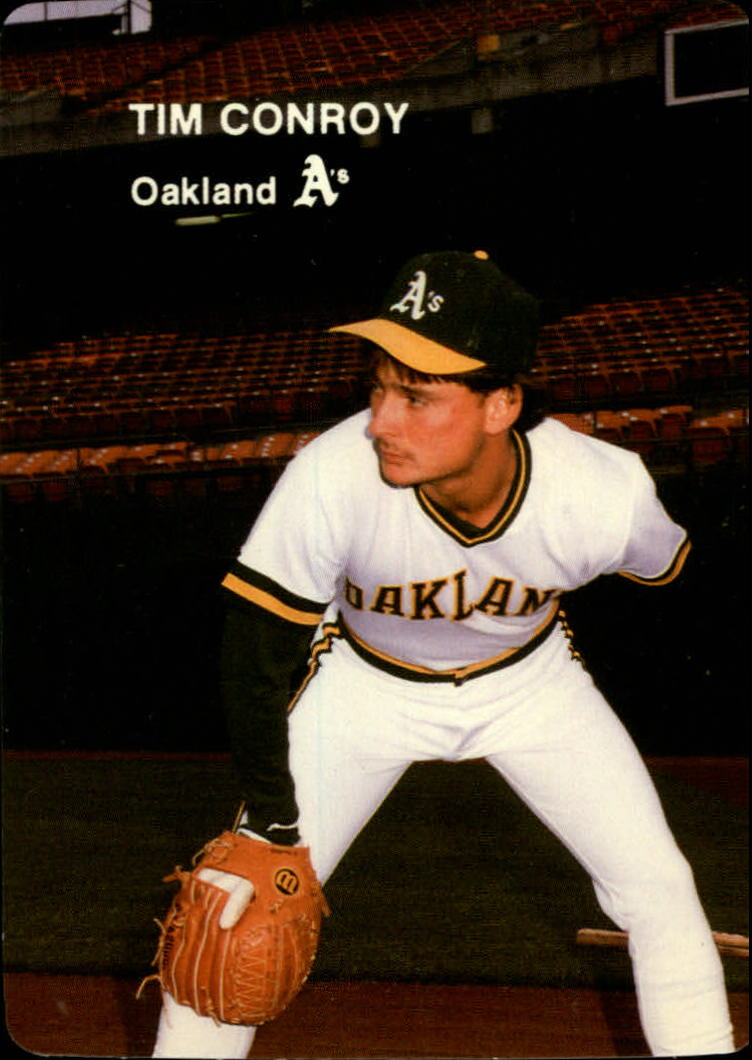1985 A's Mother's #16 Tim Conroy