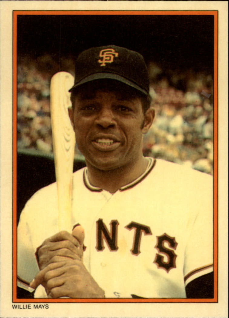 1985 Circle K #3 Willie Mays