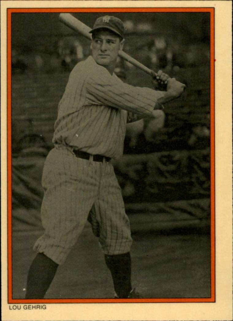 1985 Circle K #14 Lou Gehrig