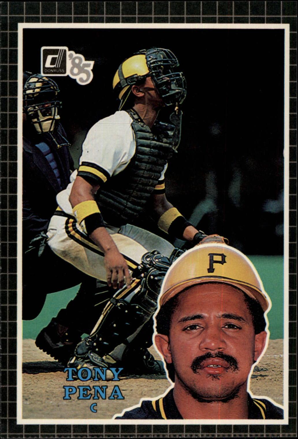 1985 Donruss Action All-Stars #10 Tony Pena