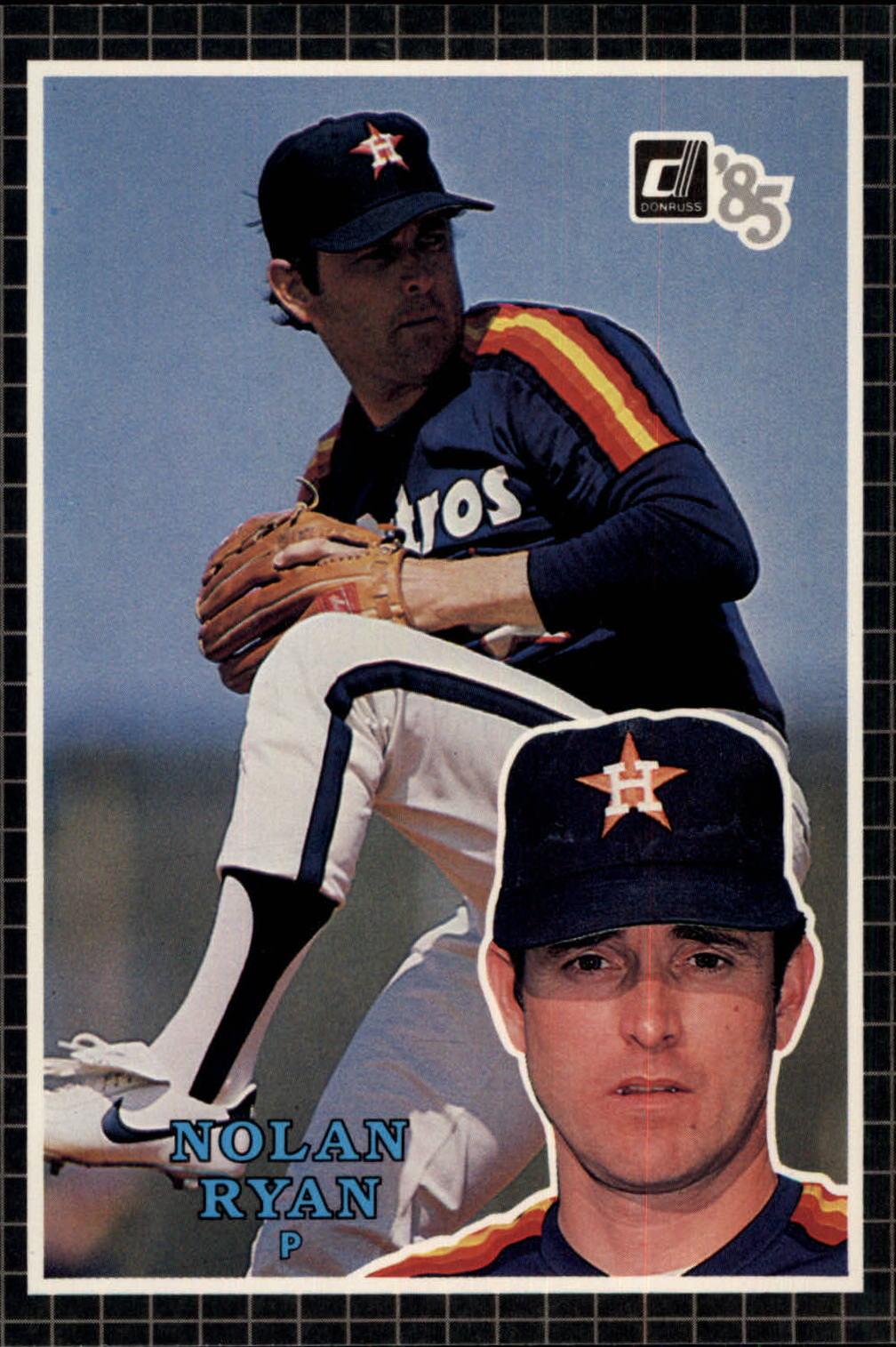 1985 Donruss Action All-Stars #20 Nolan Ryan