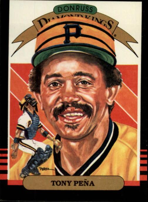 1985 Leaf/Donruss #24 Tony Pena DK