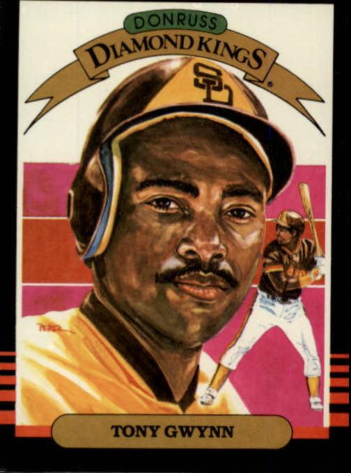1985 Leaf/Donruss #25 Tony Gwynn DK