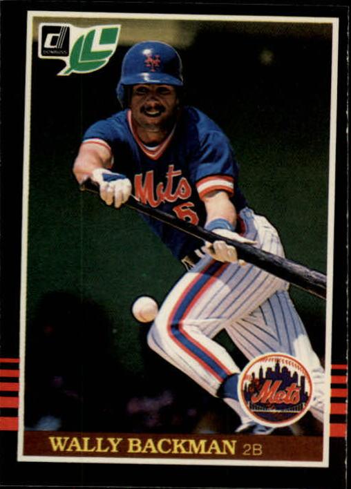 1985 Leaf/Donruss #79 Wally Backman