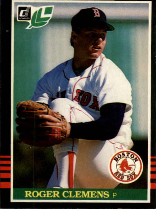 1985 Leaf/Donruss #99 Roger Clemens RC