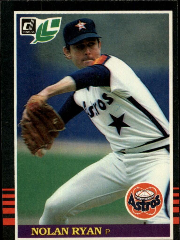 1985 Leaf/Donruss #216 Nolan Ryan