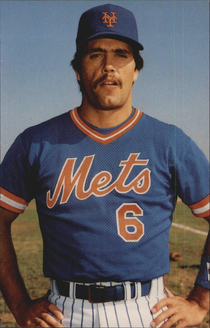 1985 Mets TCMA #21 Wally Backman