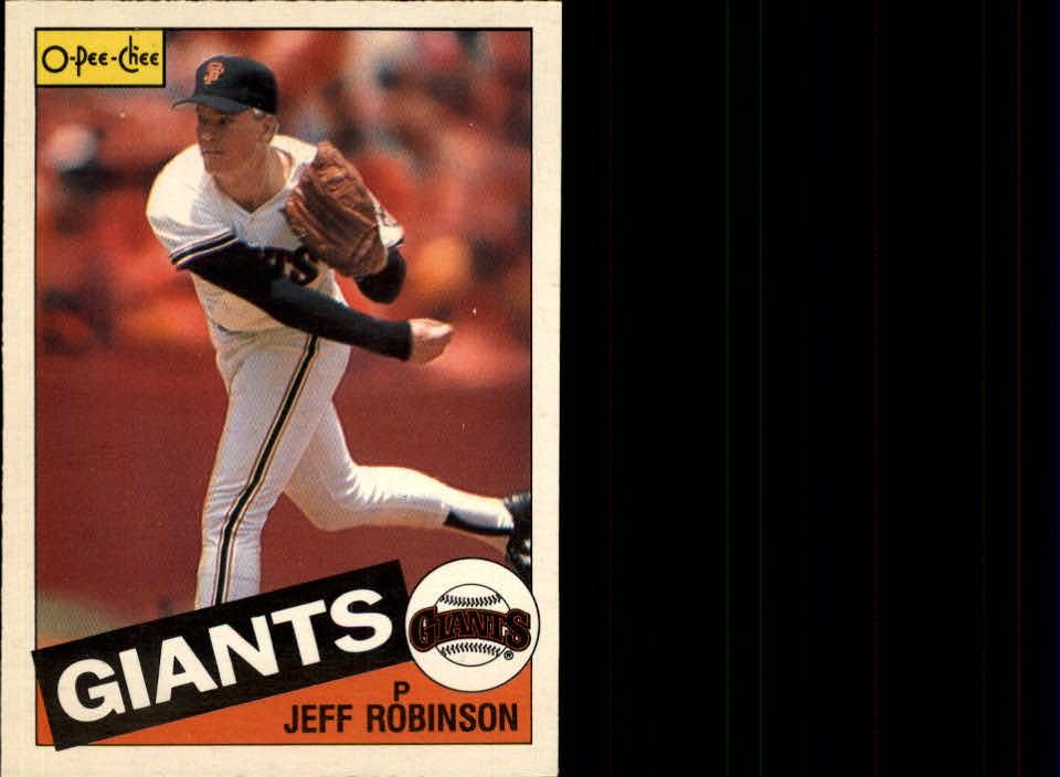1985 O-Pee-Chee #5 Jeff Robinson