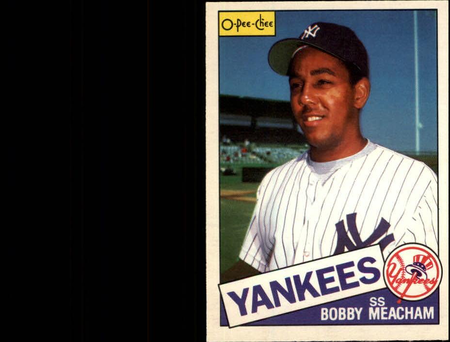 1985 O-Pee-Chee #16 Bobby Meacham