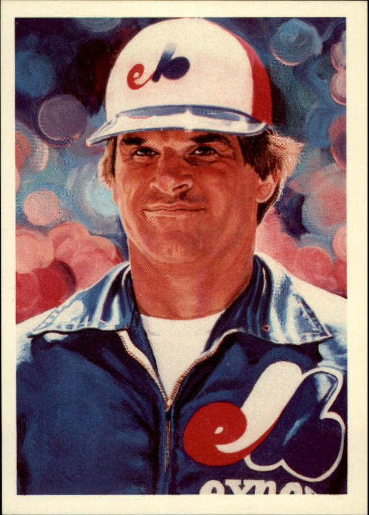 1985 Topps Rose #20 Pete Rose/All-City Football/Lewis painting