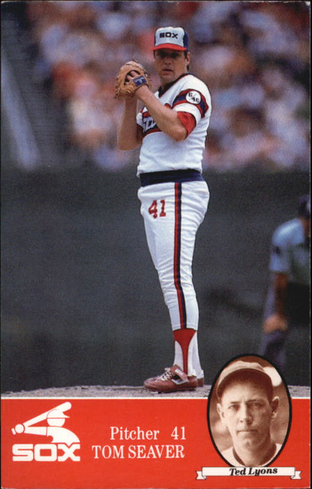 1985 White Sox Coke #41 Tom Seaver/Ted Lyons