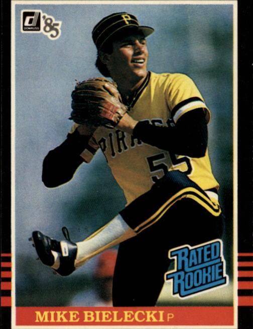 1985 Donruss #28 Mike Bielecki RC