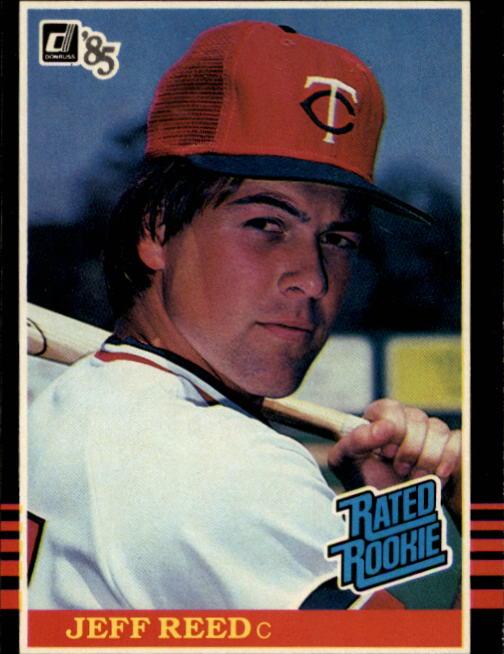 1985 Donruss #30 Jeff Reed RC