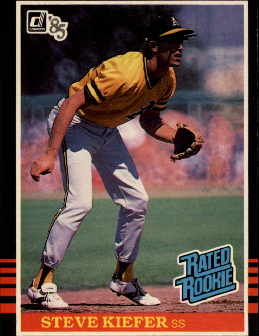 1985 Donruss #35 Steve Kiefer RC
