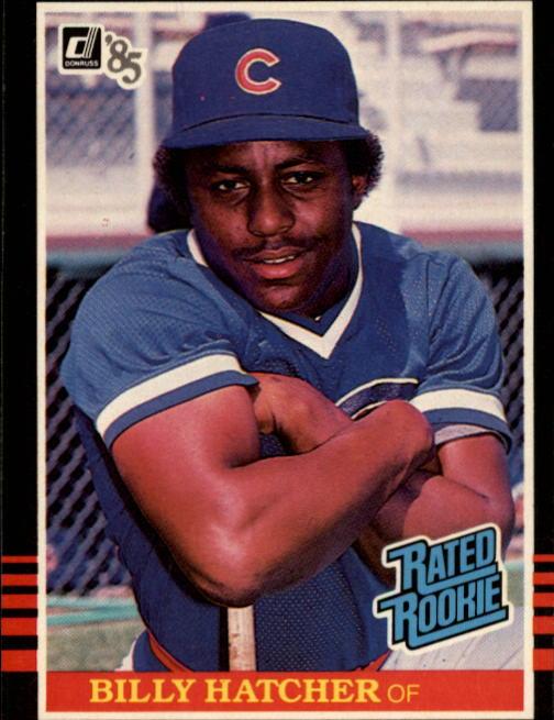 1985 Donruss #41 Billy Hatcher RC