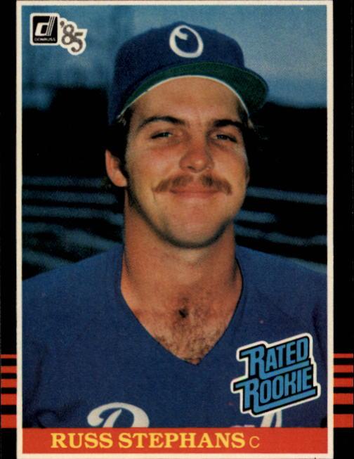 1985 Donruss #42 Russ Stephans RC