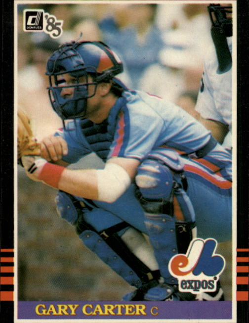 1985 Donruss #55 Gary Carter
