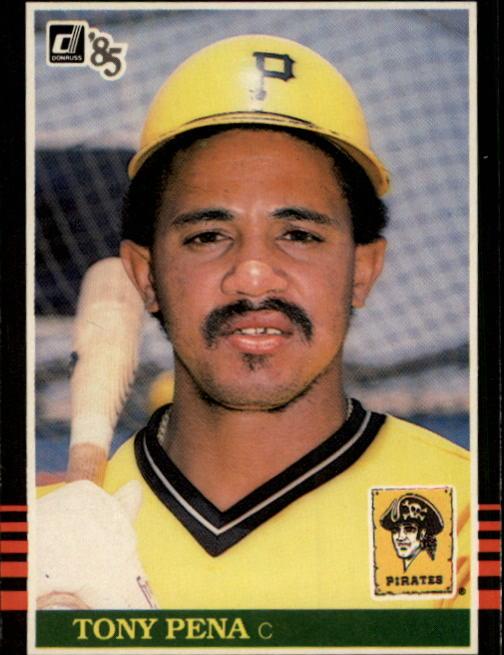 1985 Donruss #64 Tony Pena