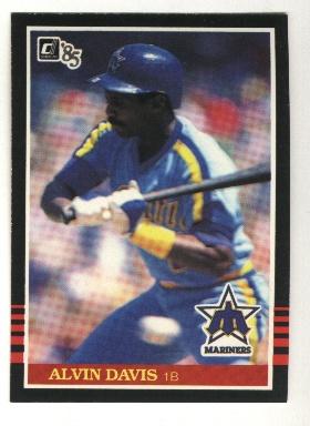1985 Donruss #69 Alvin Davis RC*