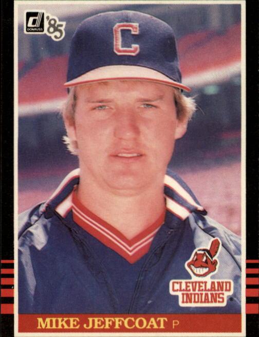 1985 Donruss #251 Mike Jeffcoat