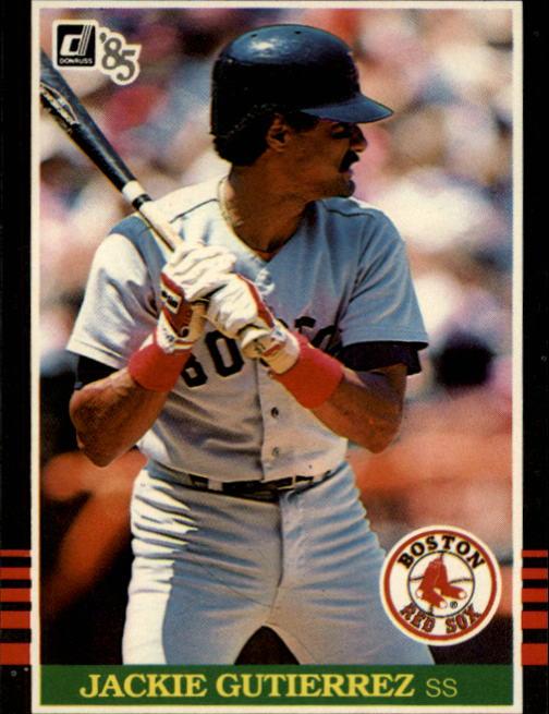 1985 Donruss #335 Jackie Gutierrez