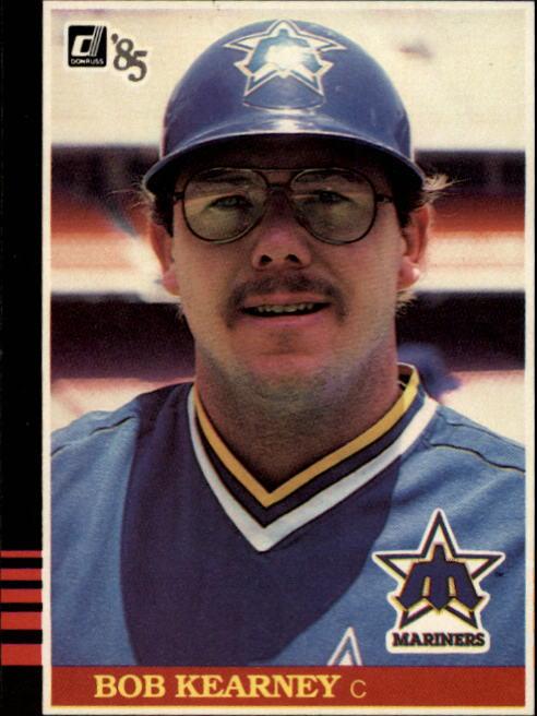 1985 Donruss #362 Bob Kearney