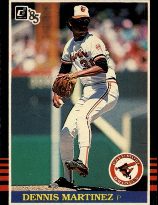 1985 Donruss #514 Dennis Martinez