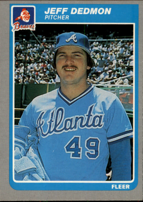 1985 Fleer #323 Jeff Dedmon
