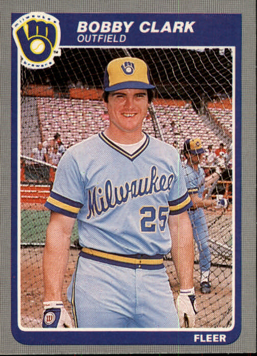 1985 Fleer #578 Bobby Clark