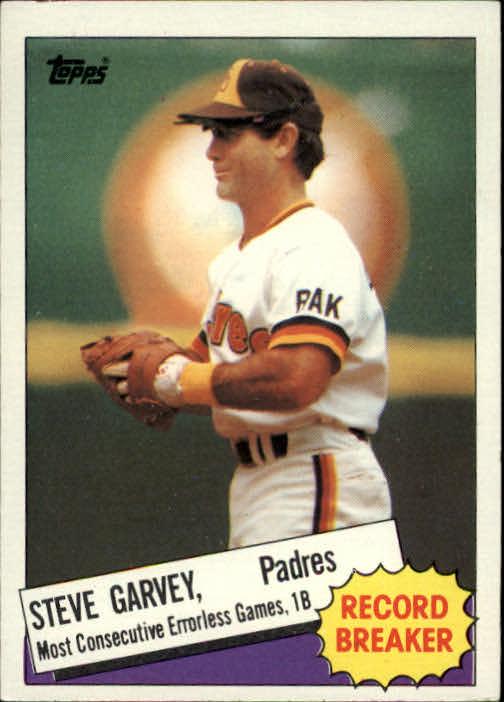 1985 Topps #2 Steve Garvey RB