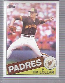 1985 Topps #13 Tim Lollar