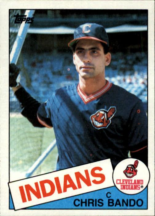 1985 Topps #14 Chris Bando