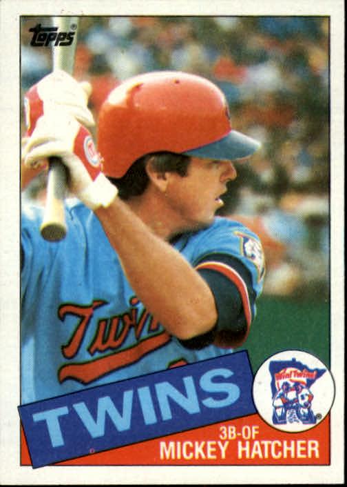 1985 Topps #18 Mickey Hatcher