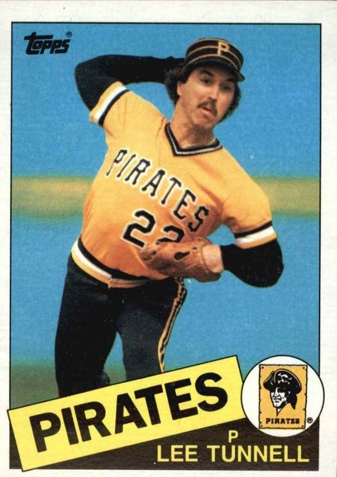 1985 Topps #21 Lee Tunnell