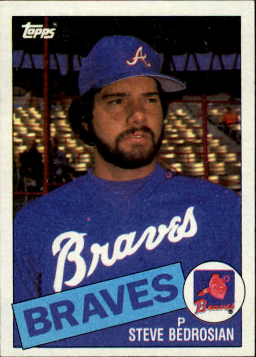 1985 Topps #25 Steve Bedrosian