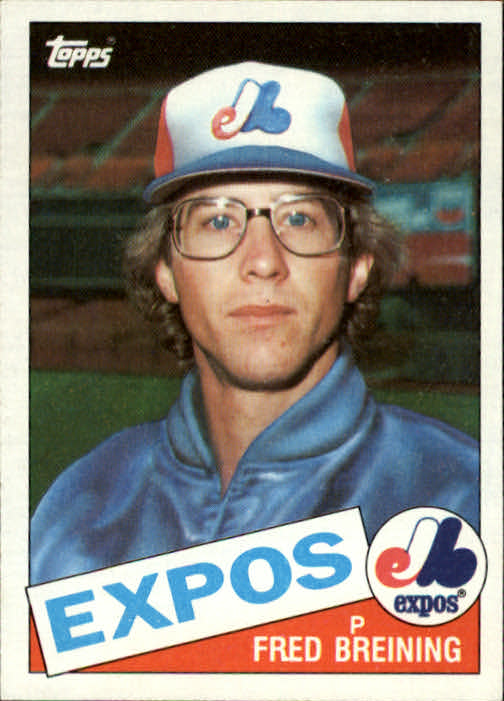 1985 Topps #36 Fred Breining