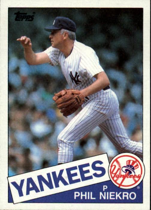 1985 Topps #40 Phil Niekro