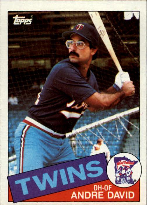 1985 Topps #43 Andre David