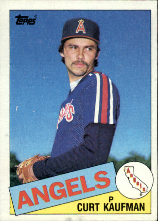1985 Topps #61 Curt Kaufman