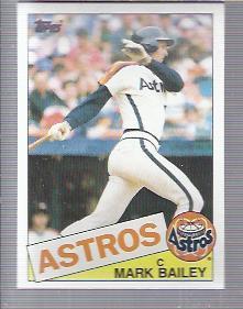1985 Topps #64 Mark Bailey
