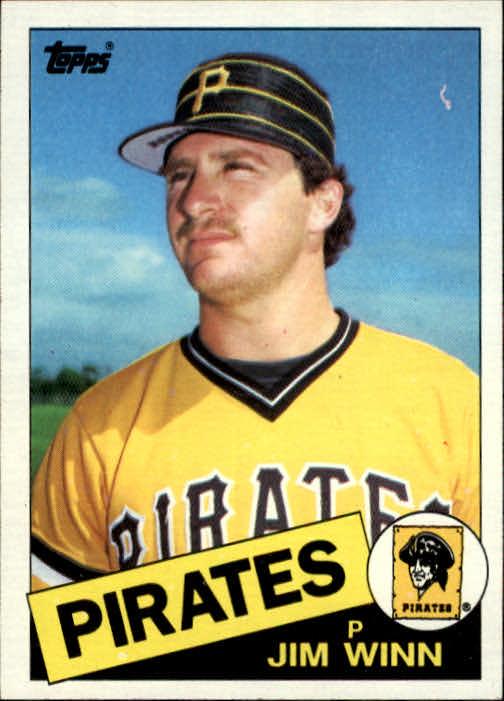 1985 Topps #69 Jim Winn