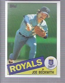 1985 Topps #77 Joe Beckwith