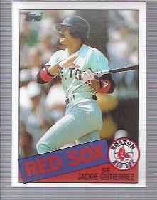1985 Topps #89 Jackie Gutierrez