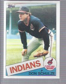 1985 Topps #93 Don Schulze