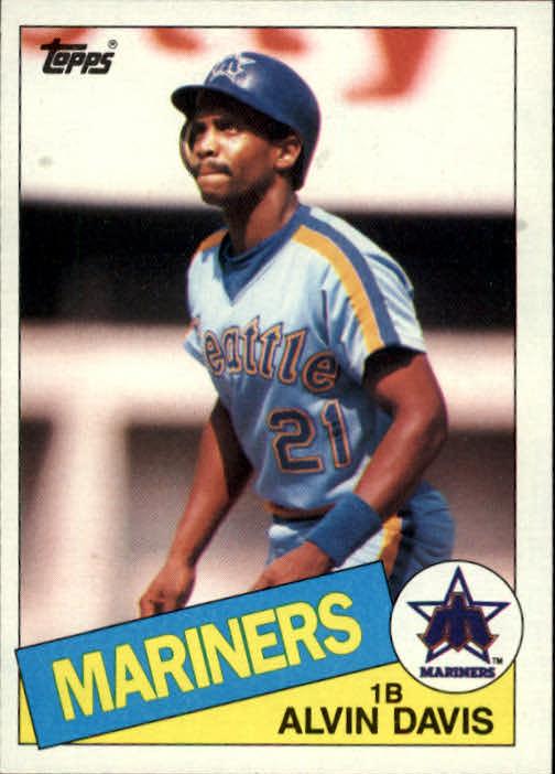 1985 Topps #145 Alvin Davis RC*